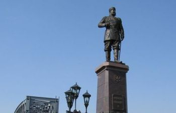 Император Александр III г. Новосибирск