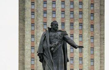 Первый министр МПС Мельников г. Москва, Комсомольская площадь