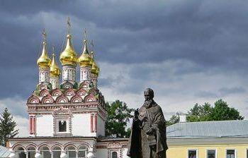 Преподобный Иосиф Волоцкий г. Волоколамск Московской обл