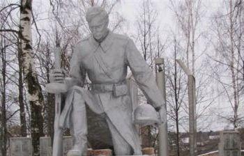 Солдат г. Пустошка Псковской обл