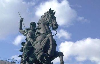 Георгий Победоносец. г. Москва (площадь между Ярославским и Ленинградским вокзалами)