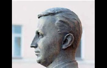 Герой Советского Союза подполковник О.Г. Ильин. г. Рязань