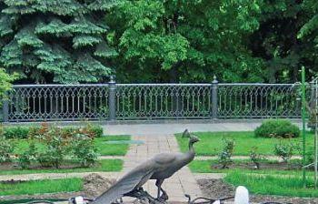 Фонтан «Птица счастья». г. Москва, Кремль (сквер Тайницкого сада)