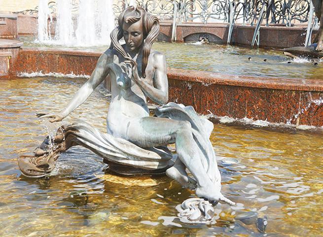 Скульптура для фонтанов