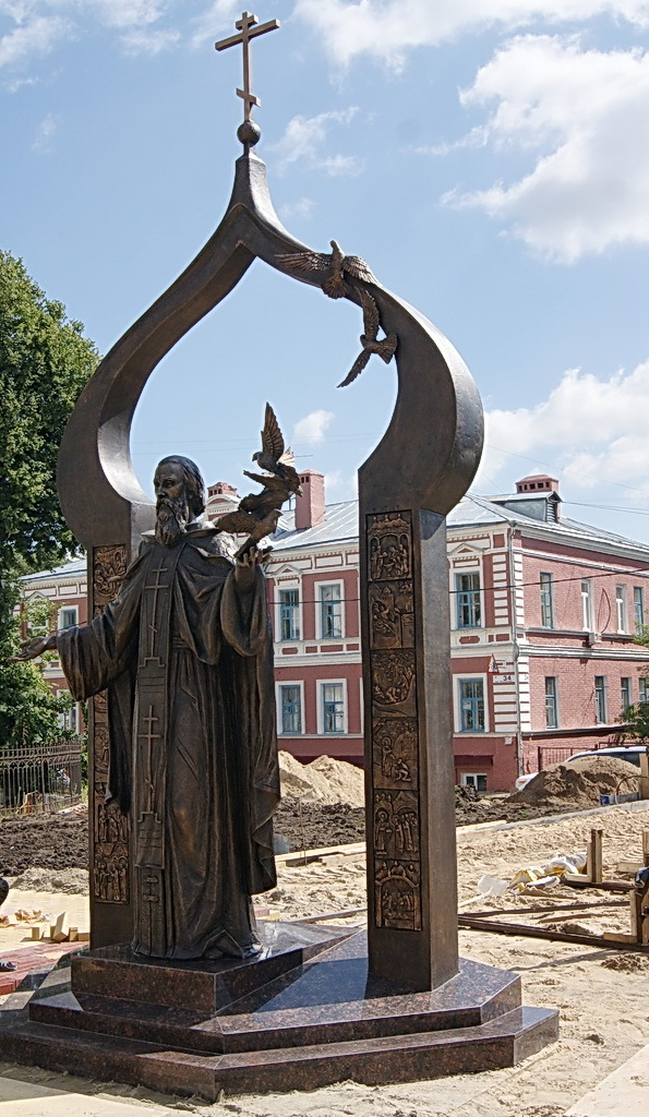 Памятник Сергию Радонежскому открыли в Нижнем Новгороде