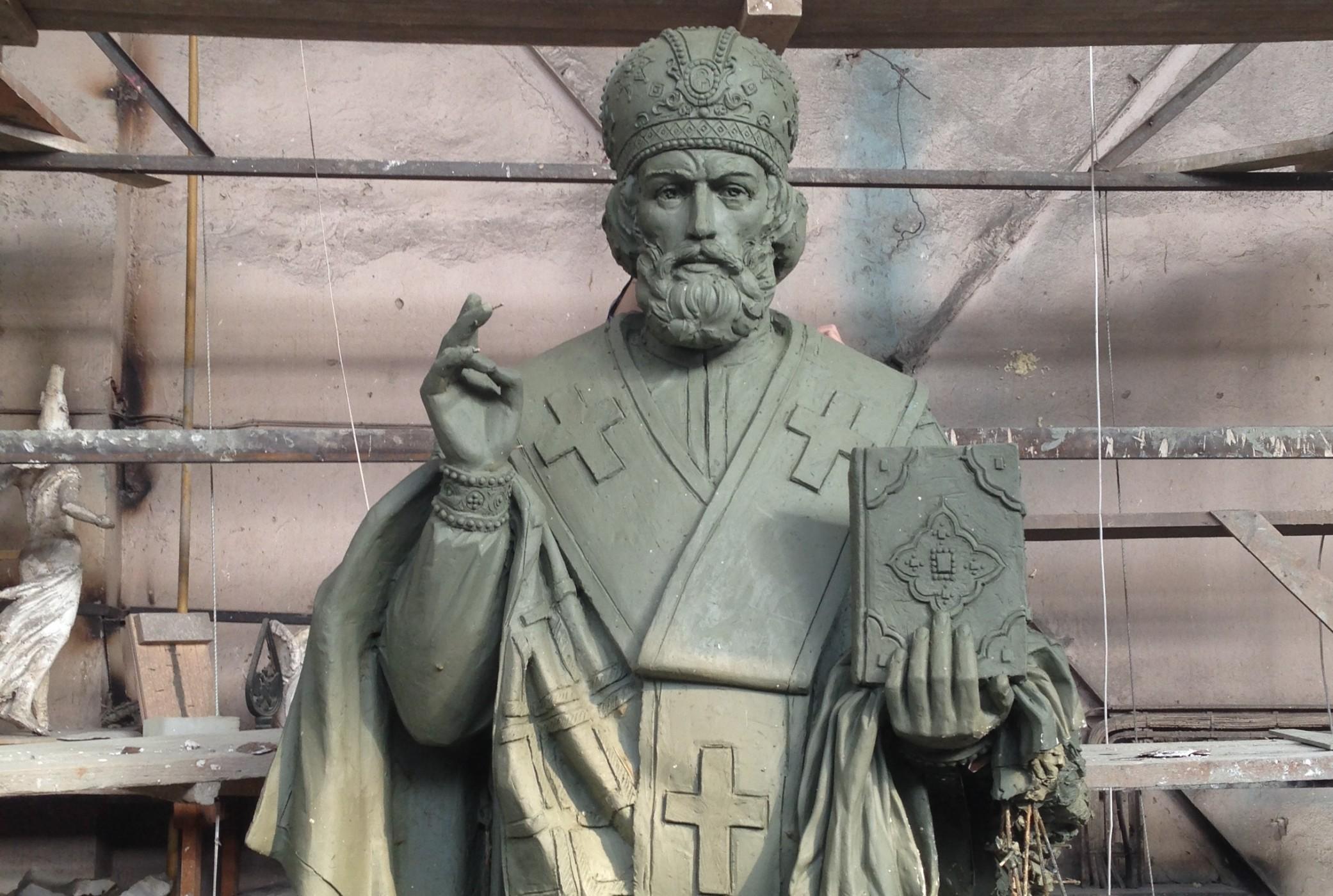 Памятник Николаю Чудотворцу установили в Кисловодске