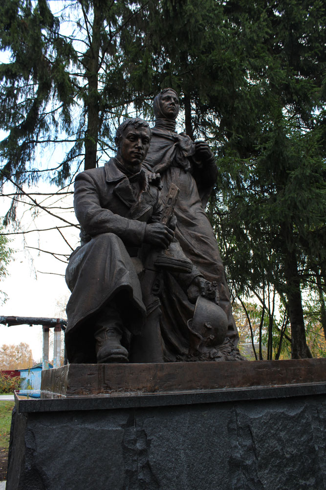 «Скорбящая мать» в Кузнецовском