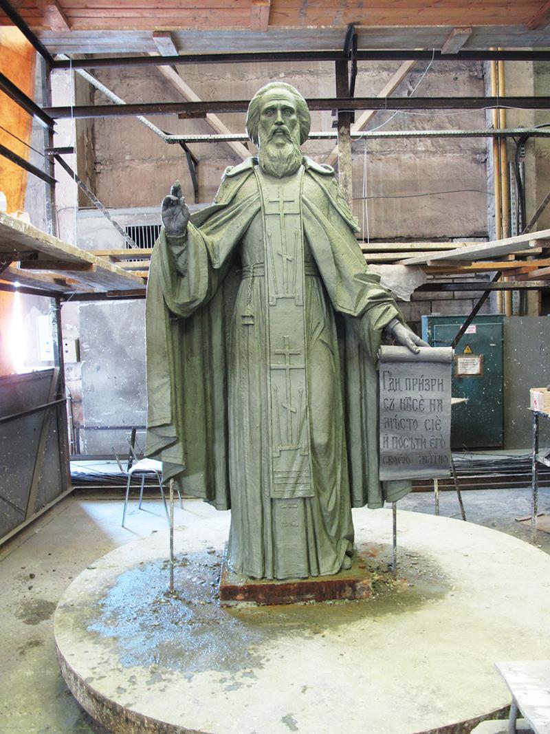 Памятник св. прп. Сергию