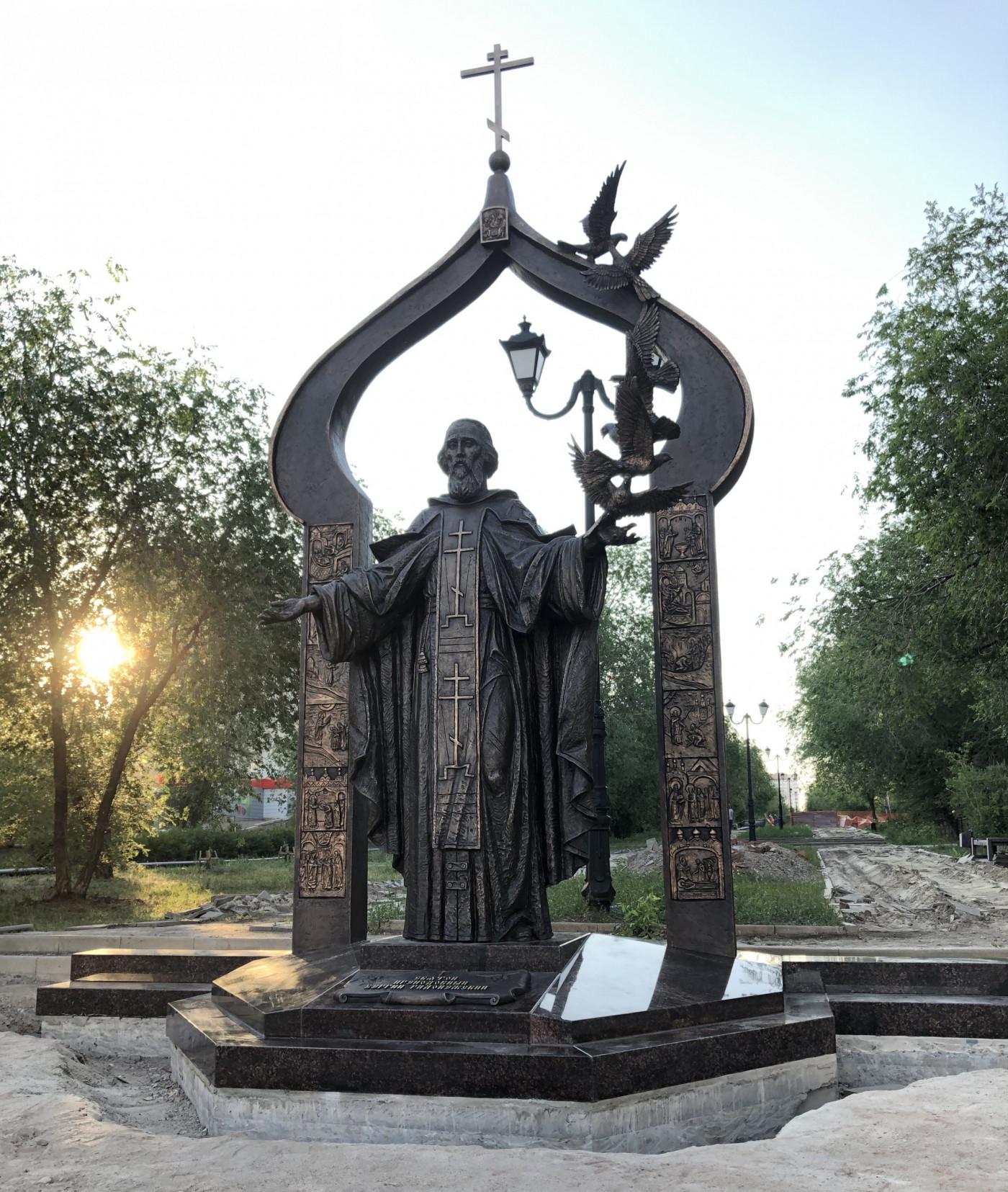 Сергий Радонежский в Оренбурге