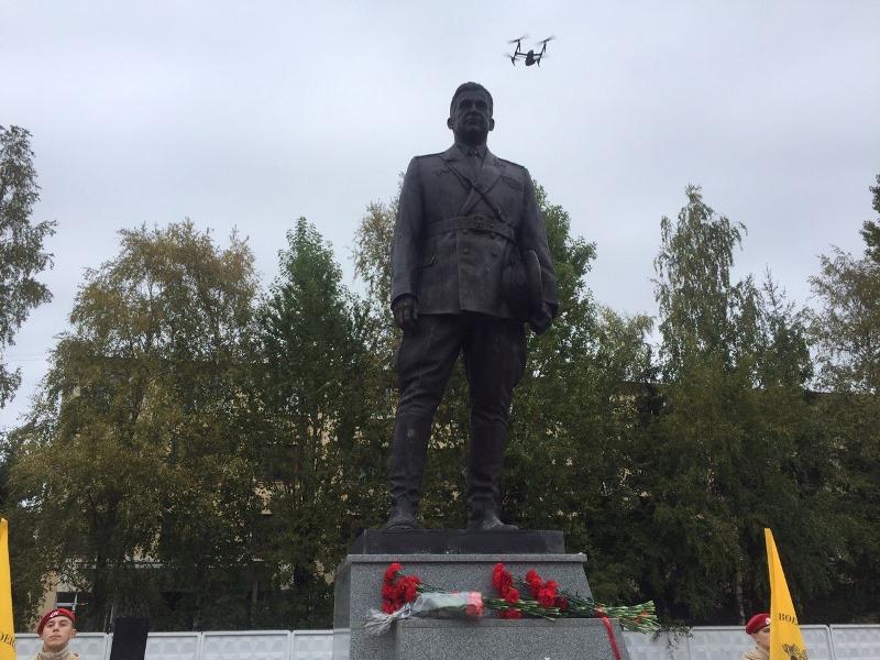 Открытие памятника Василию Филимоненко