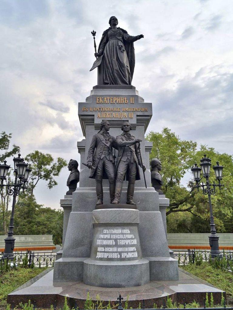 Памятник императрице Екатерине II в Симферополе | Портфолио