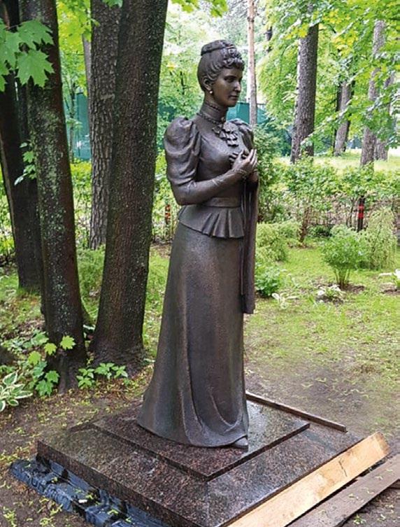 Памятник великой княгине Елизавете Романовой в Москве