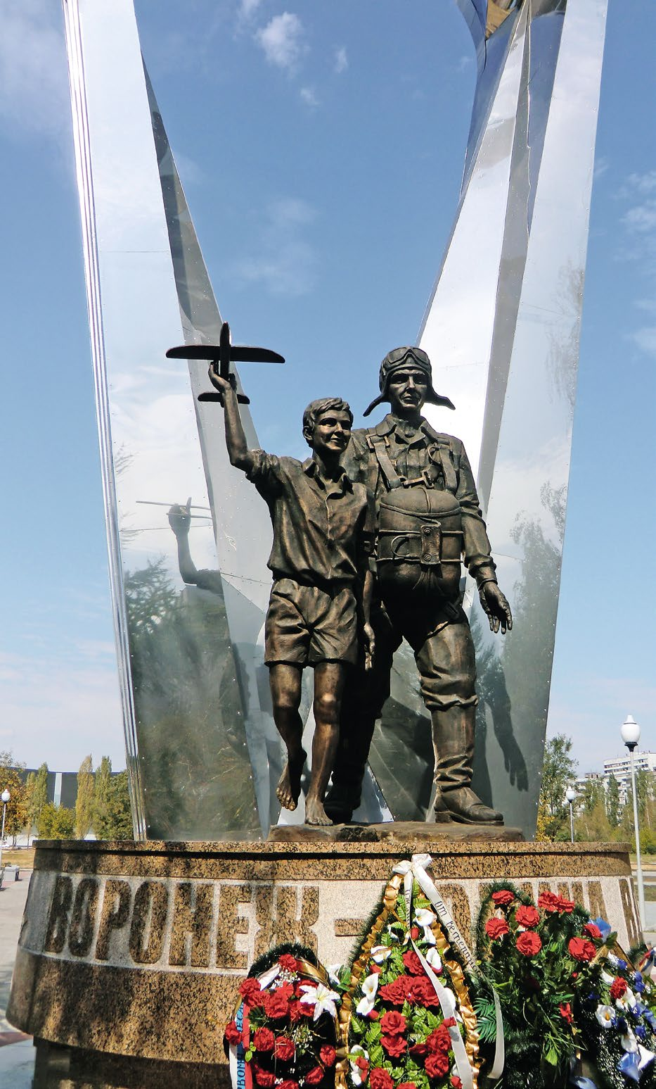 Памятник десантникам «Воронеж – Родина ВДВ» в Воронеже