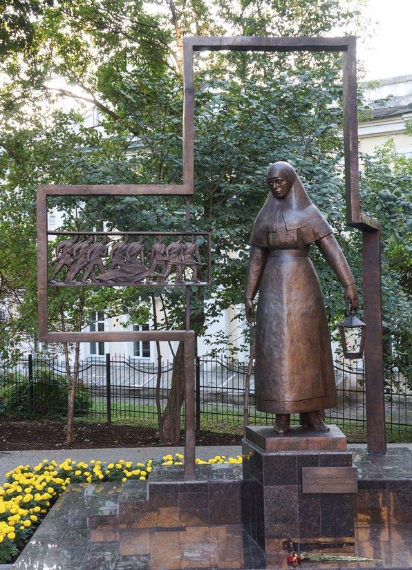 Памятник сестрам милосердия в Кирове