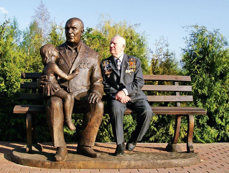 Памятник ветерану-победителю в Тамбове