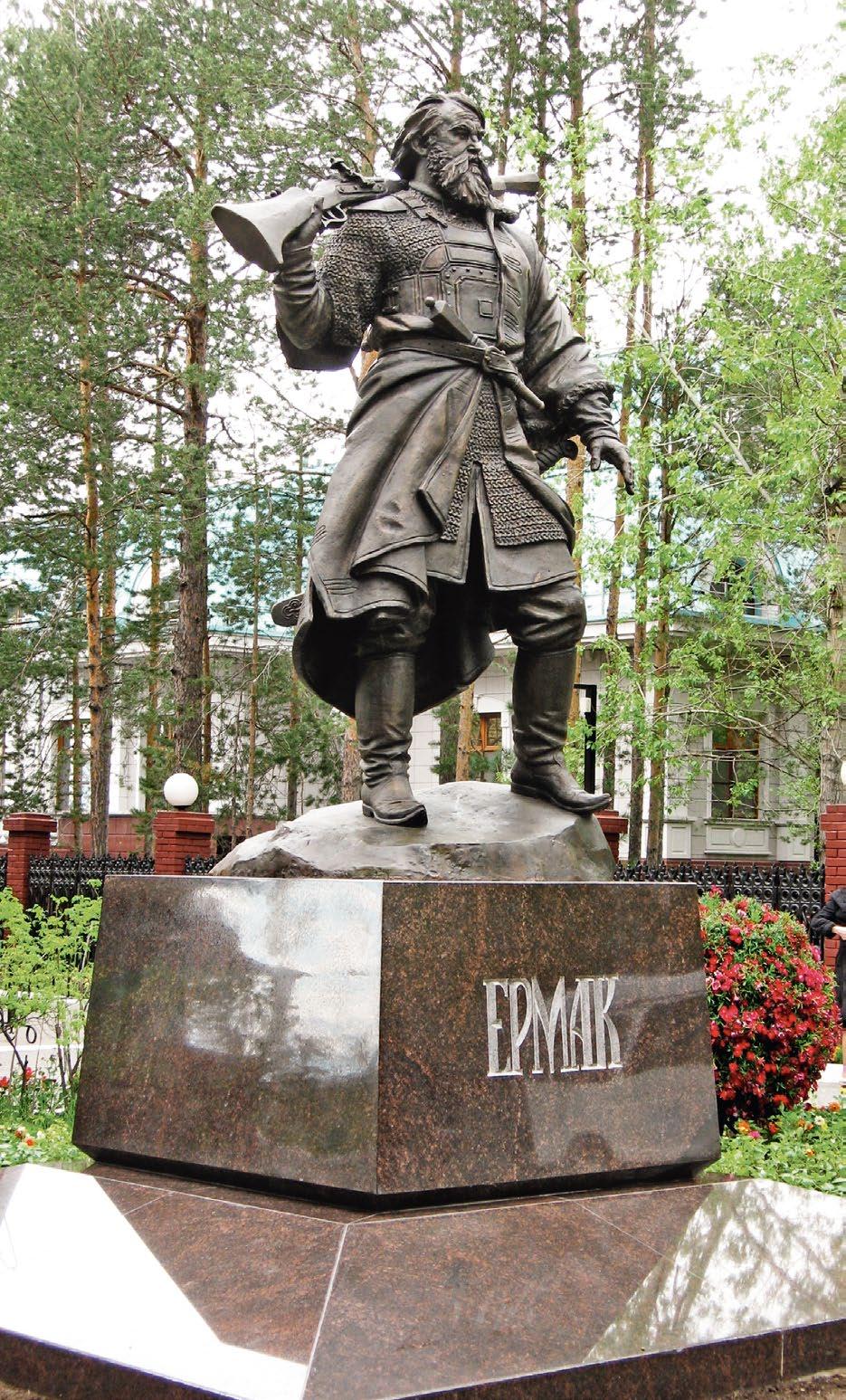Памятник атаману Ермаку Тимофеевичу в Сургуте
