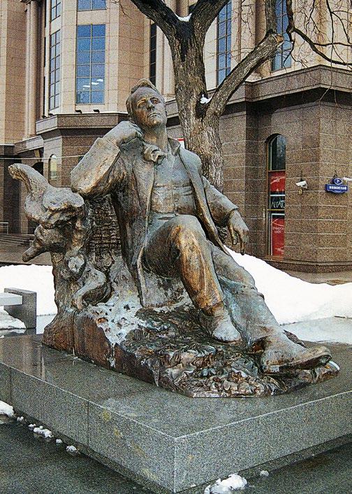 Памятник Федору Шаляпину в Москве