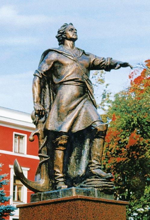 Памятник императору Петру I в Калининграде