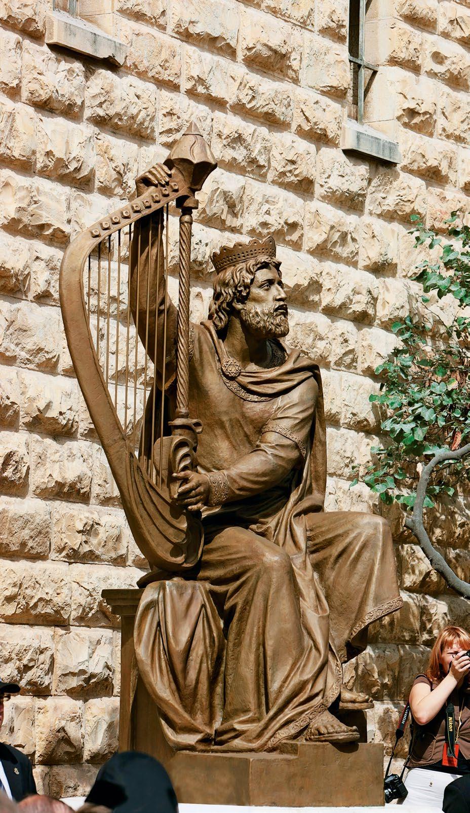 Памятник святому пророку Давиду в Иерусалиме