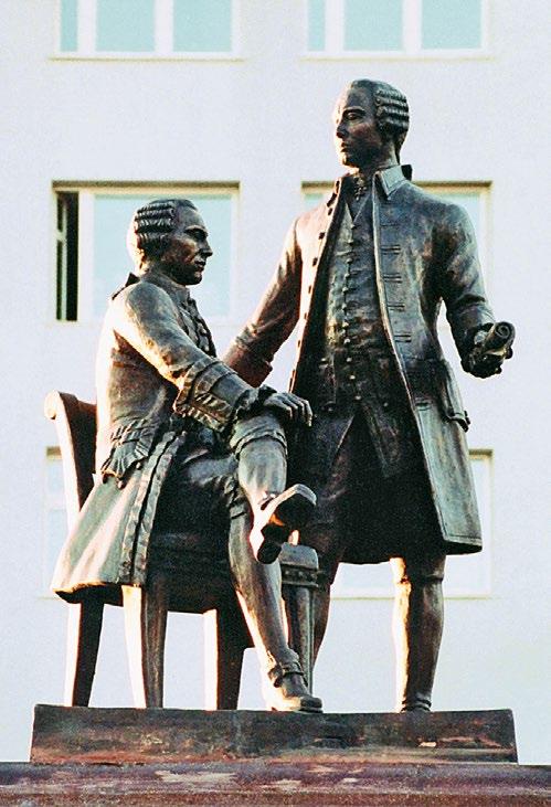 Памятник братьям Баташевым в Выксе