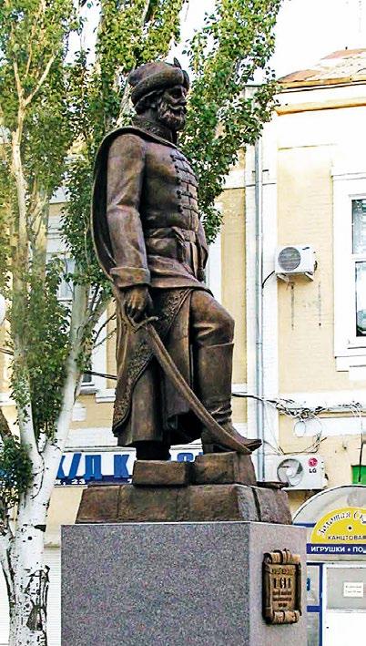 Памятник Алексею Шеину в Азове