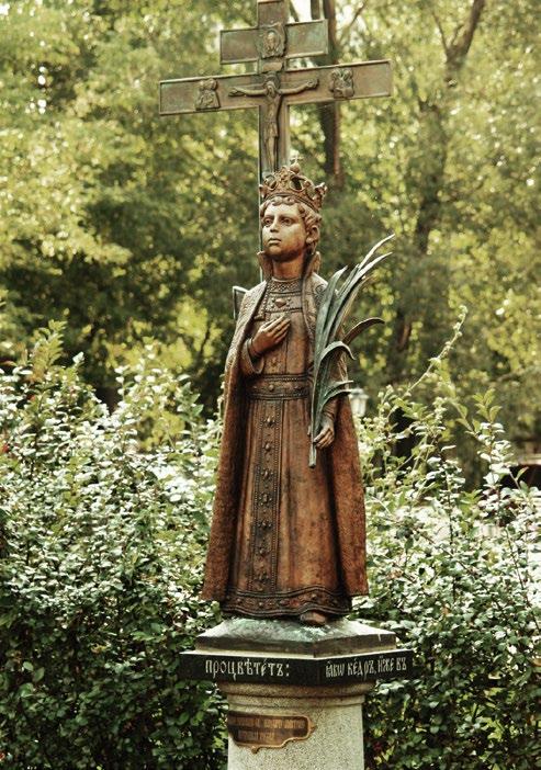 Памятник святому царевичу Димитрию Углицкому в Гольяново