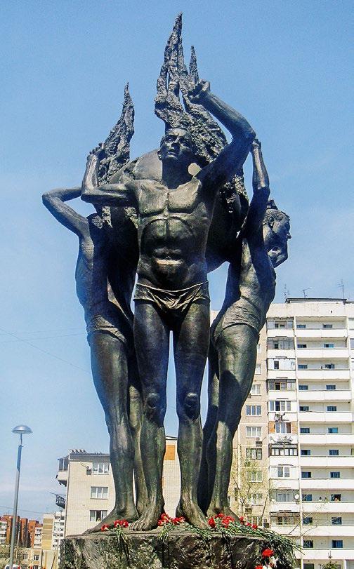 Памятник ликвидаторам аварии на чернобыльской АЭС в Краснодаре