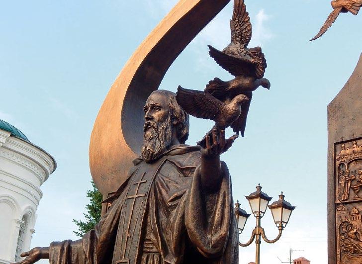Памятник преподобному Сергию Радонежскому в Нижнем Новгороде | Портфолио