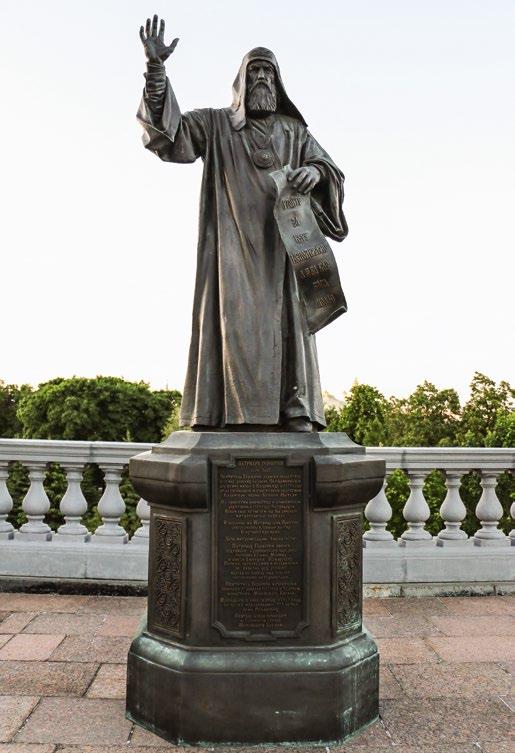 Памятники патриархам Иову, Гермогену и Тихону в Москве | Портфолио