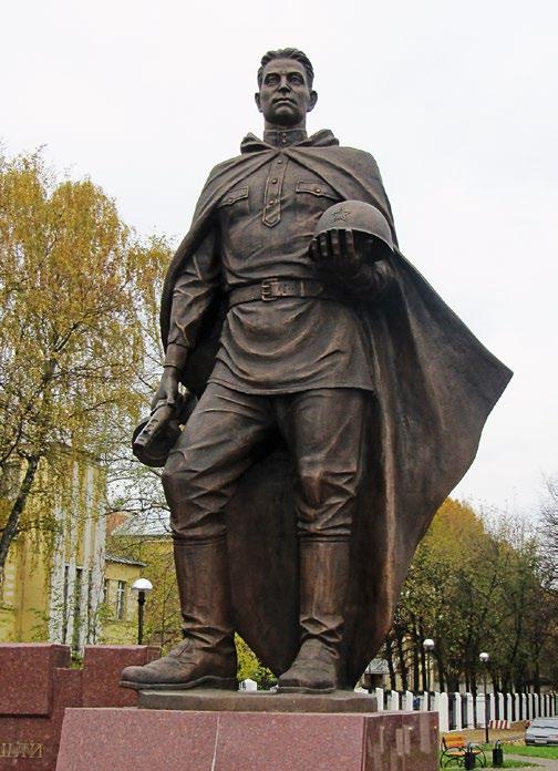 Памятник воинам-люберчанам, погибшим в годы ВОВ