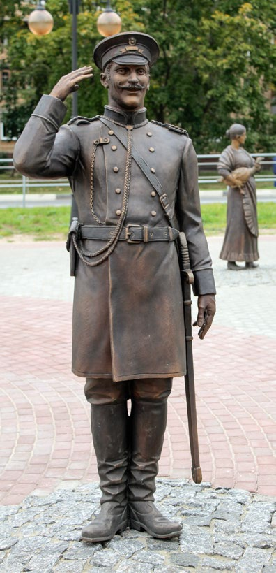 Скульптурная композиция «Ярмарка»в Серпухове
