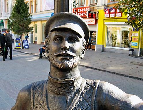Памятник саратовской гармошке | Портфолио