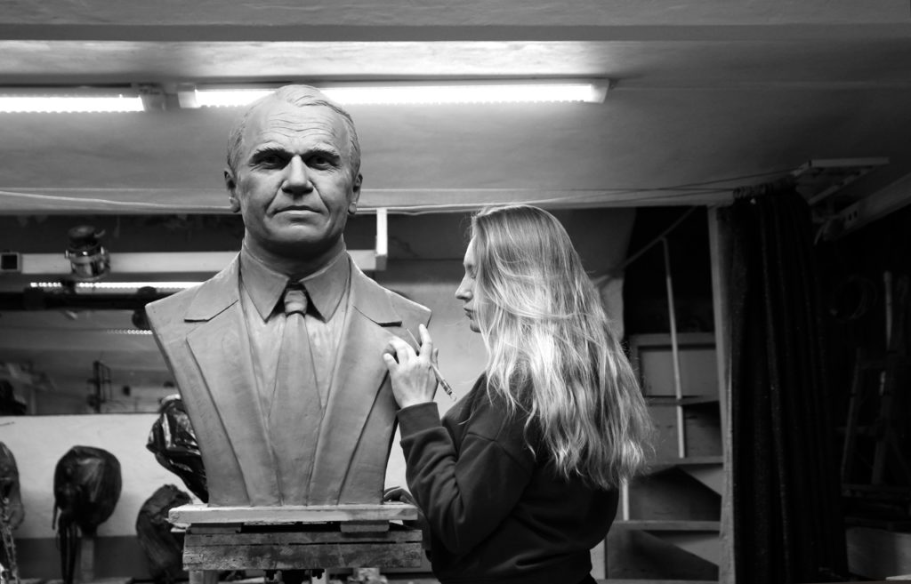 Бюст тренера Станислава Жука на Аллее ЦСКА в Москве | Портфолио