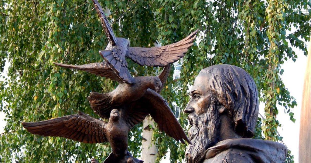 Памятник святому преподобному Сергию Радонежскому в Оренбурге | Портфолио