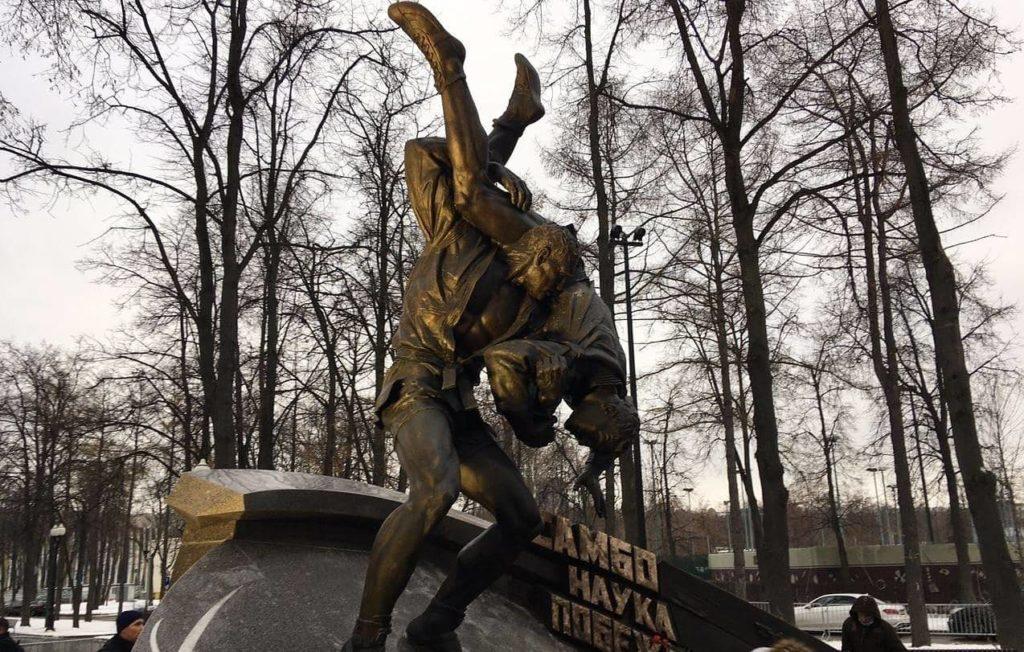 """""""Самбо-наука побеждать"""".Мемориал, посвященный  основателям самбо Виктору Спиридонову, Василию Ощепкову и Анатолию Харлампиеву."""