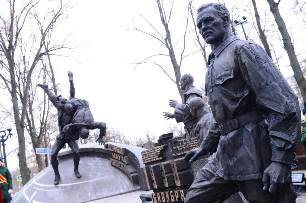 Памятник «Самбо — наука побеждать» в Москве | Портфолио